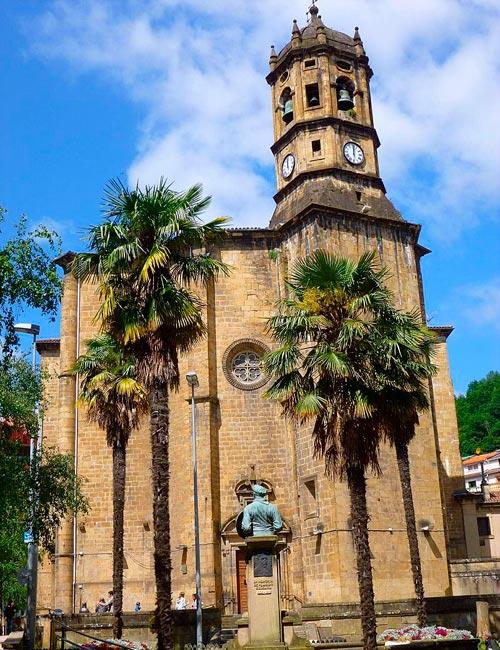Parroquia de San Andrés en Eibar, Gipuzkoa